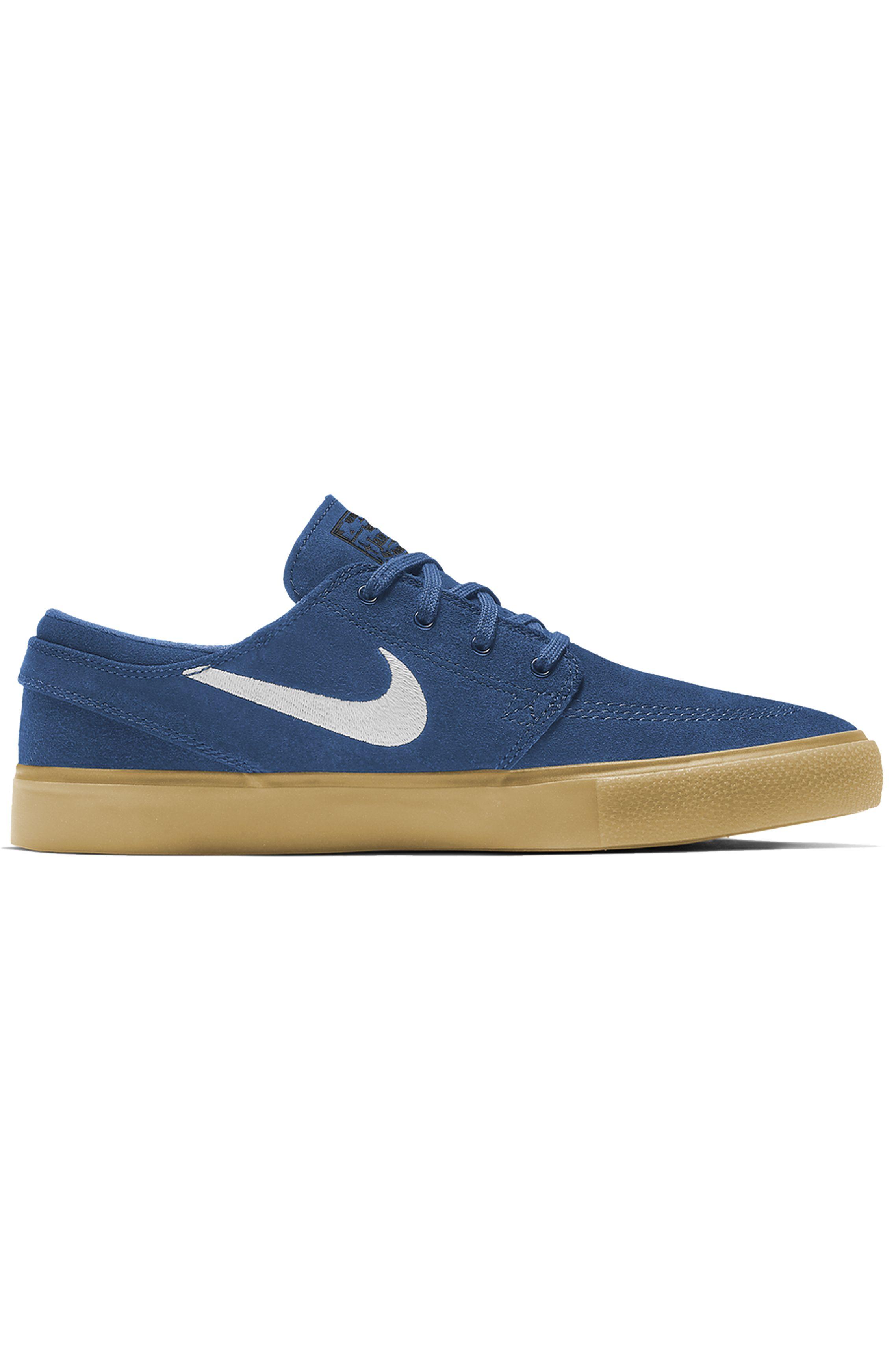 Nike Sb Shoes ZOOM STEFAN JANOSKI RM Court Blue/White-Court Blue