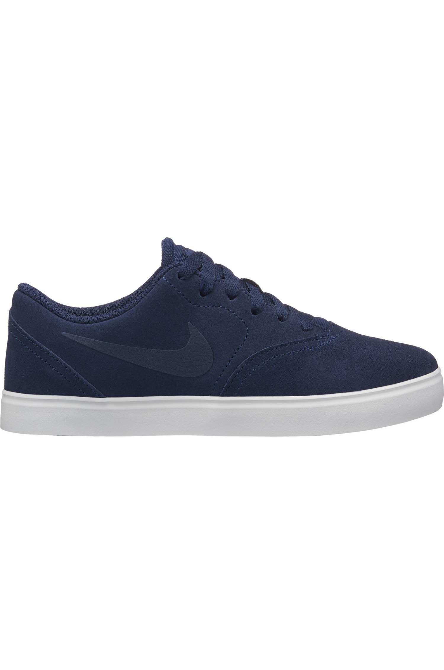 Tenis Nike Sb CHECK SUEDE (GS) Midnight Navy/Midnight Navy-Black