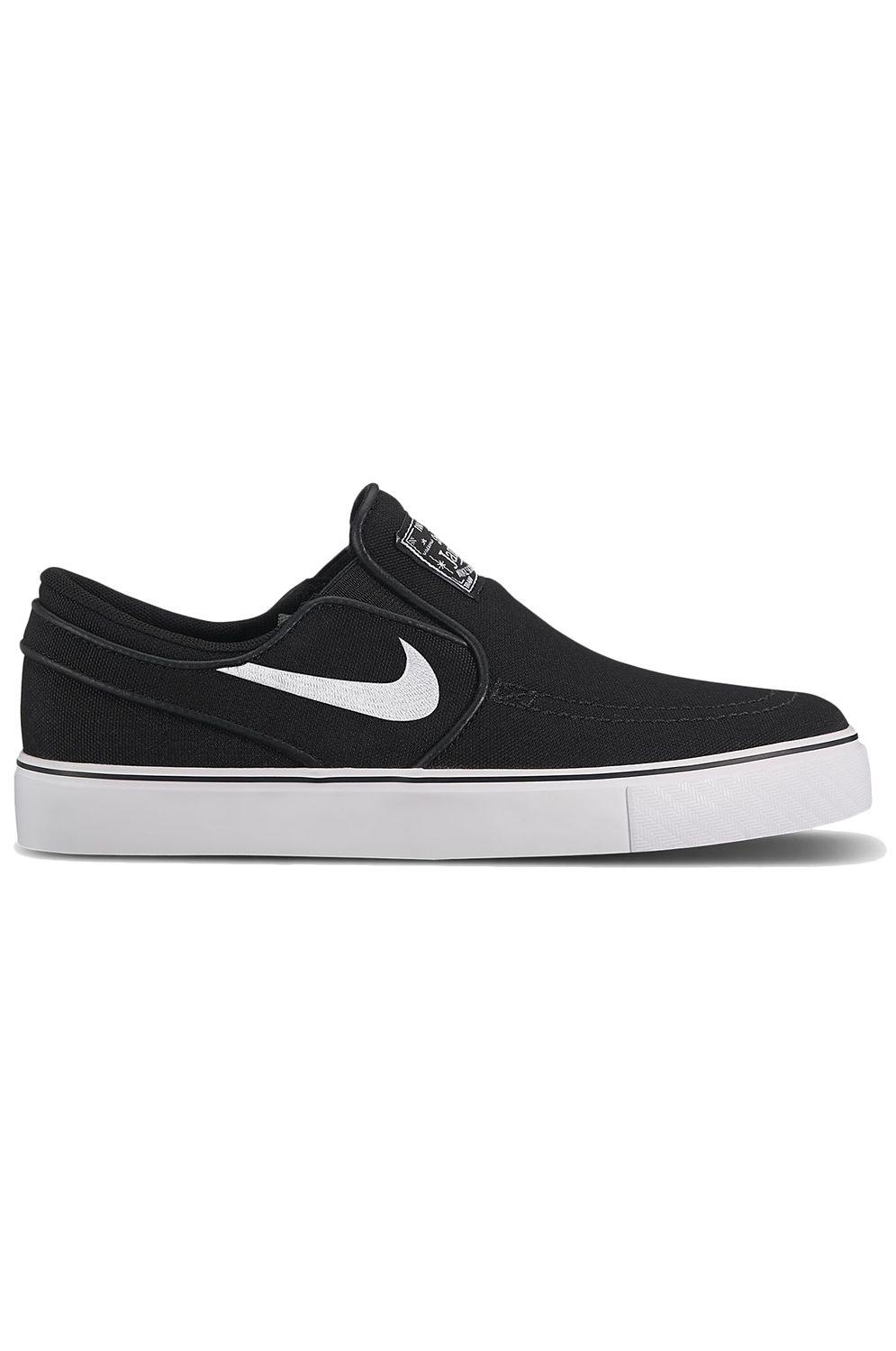 Nike Sb Shoes STEFAN JANOSKI CANVAS SLIP Black/White
