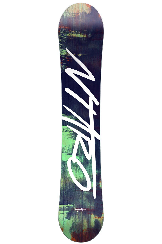 Prancha Snowboard Nitro MYSTIQUE Black
