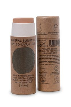 Nuura Sunscreen NATURAL MINERAL STICK SPF 50 COLOR 18ML Assorted