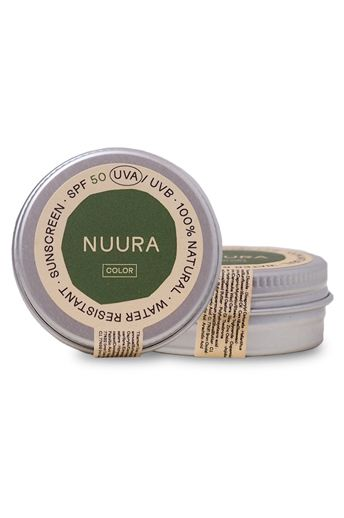 Nuura Sunscreen NATURAL MINERAL SUNSCREEN SPF 50 COLOR 18ML Assorted