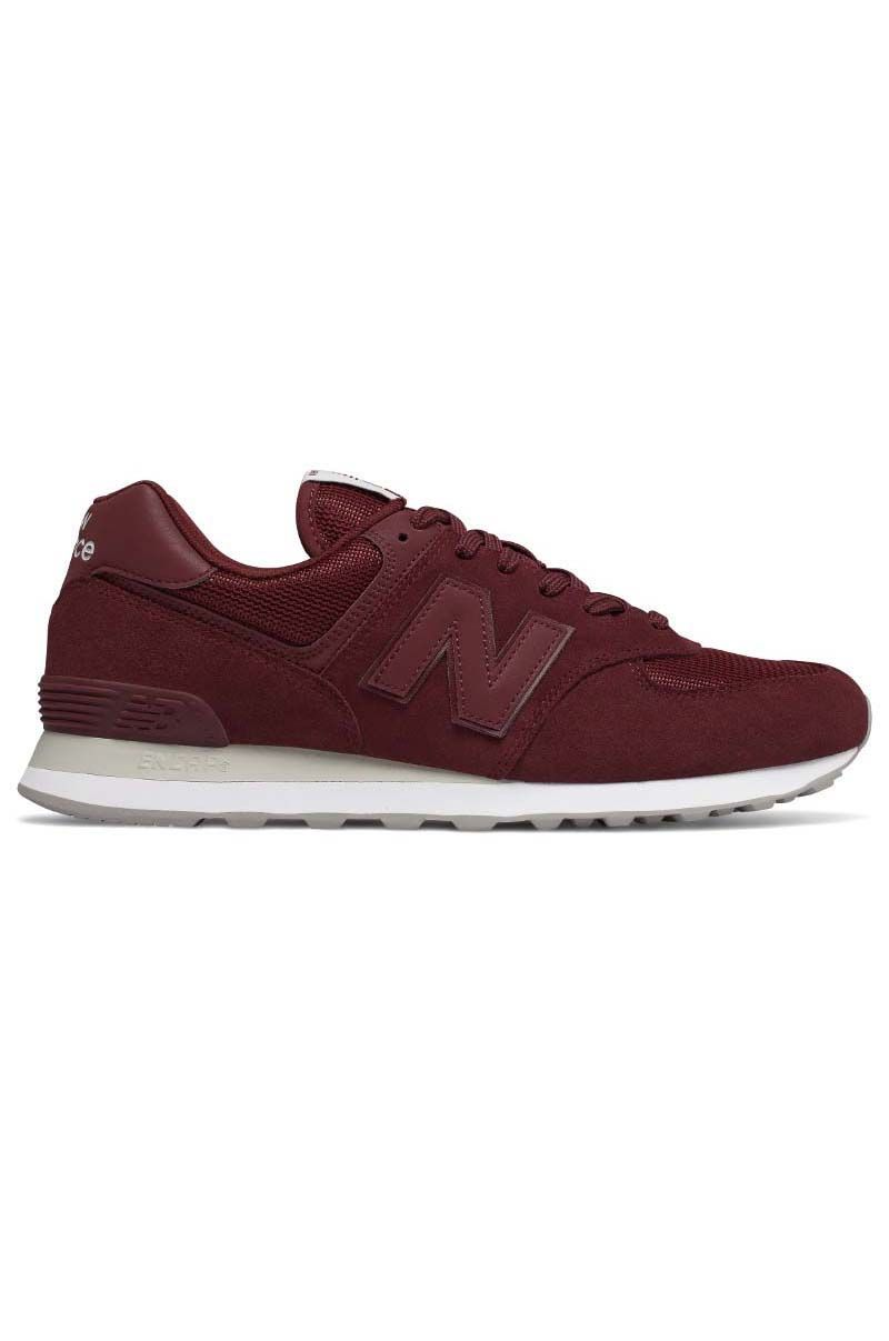 Tenis New Balance ML574 Burgundy