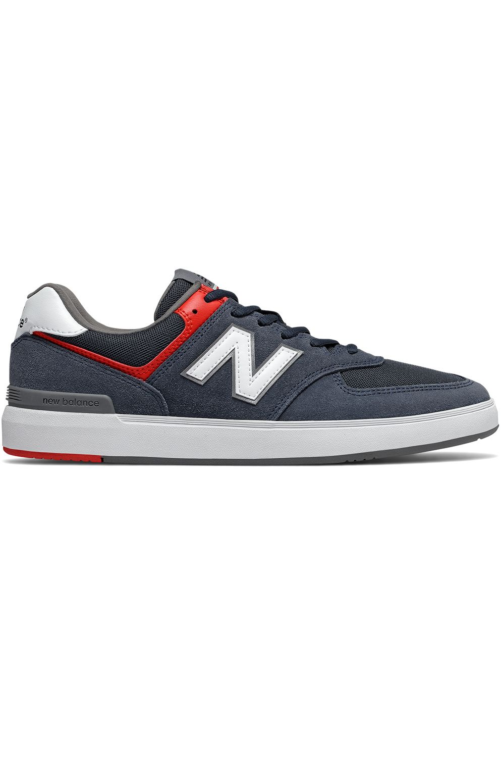 New Balance Shoes AM574 Navy/Red
