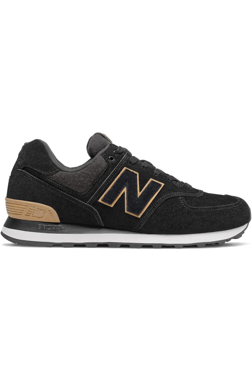 New Balance Shoes ML574 Black/Yellow