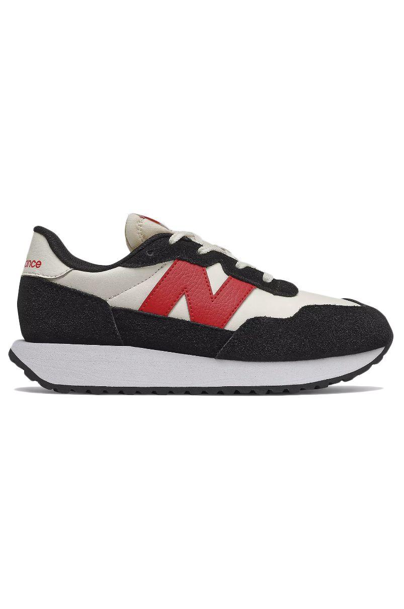 New Balance Shoes GS237BR1 Black