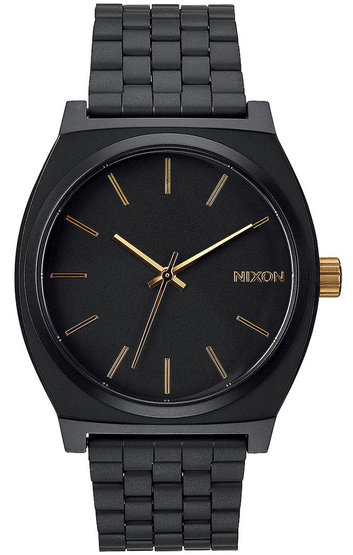 Relogio Nixon TIME TELLER Matte Black/Gold