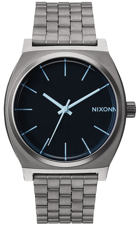 Relogio Nixon TIME TELLER Gunmetal/Blue Crystal