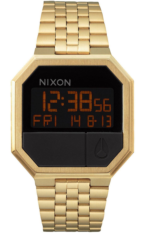 Relogio Nixon RE-RUN All Gold