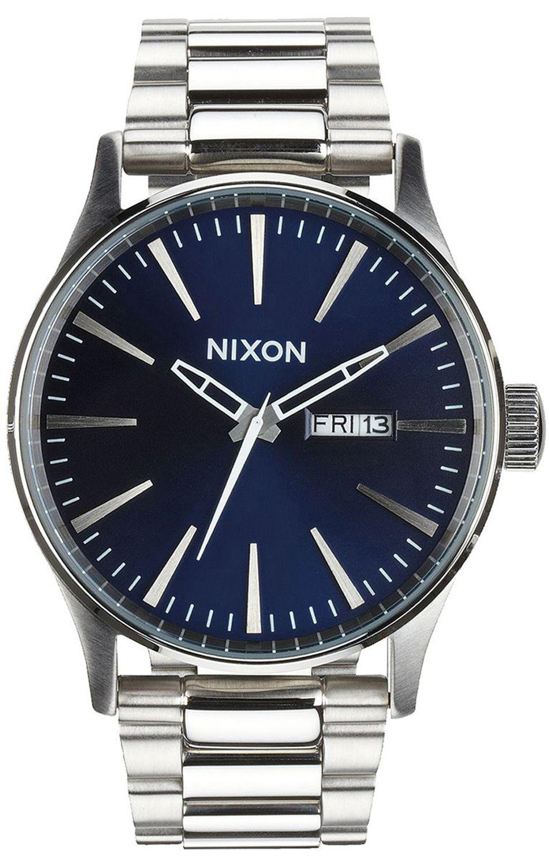 Relogio Nixon SENTRY SS Blue Sunray
