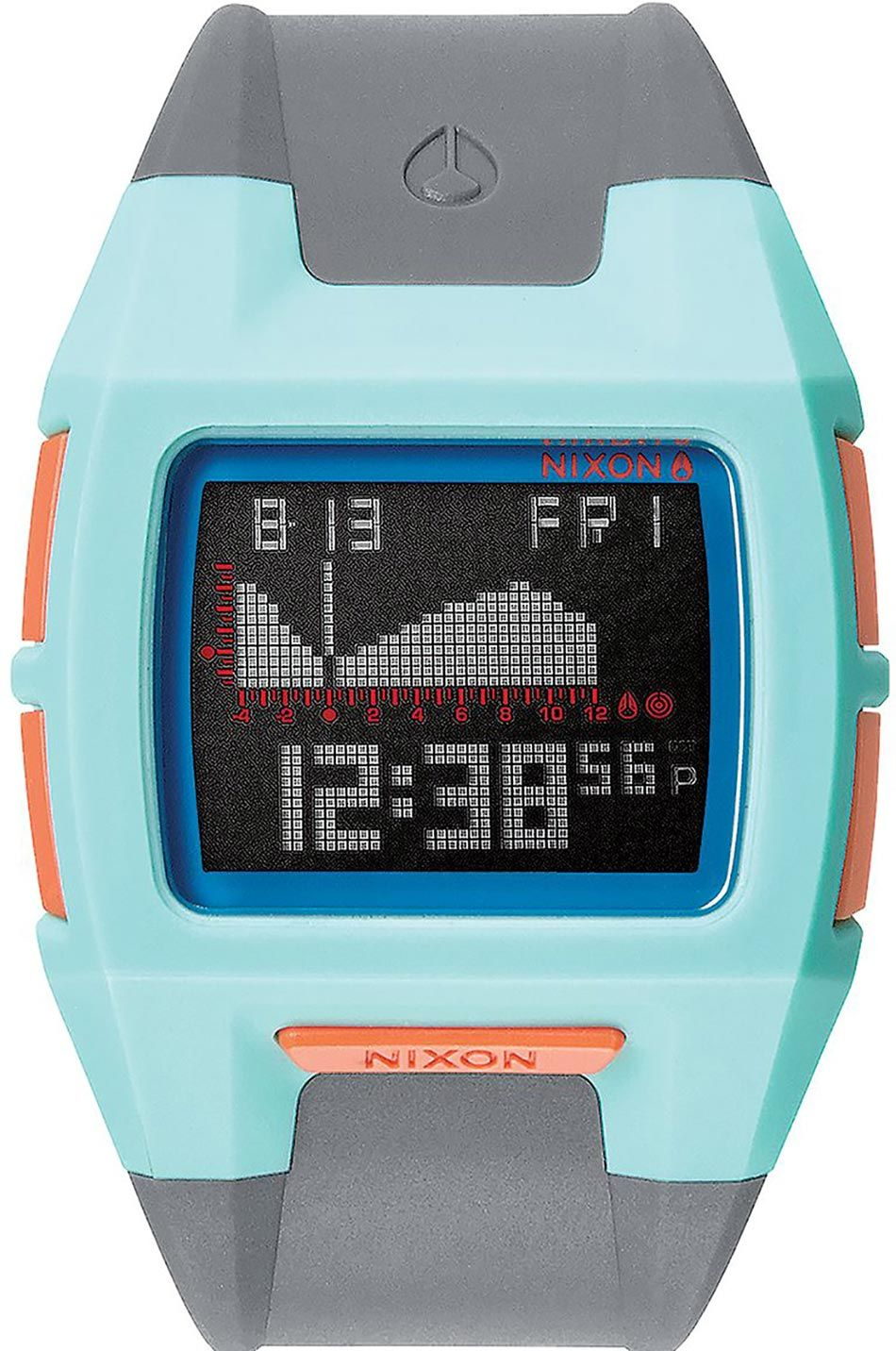 Relogio Nixon LODOWN S Light Blue / Charcoal / Pink