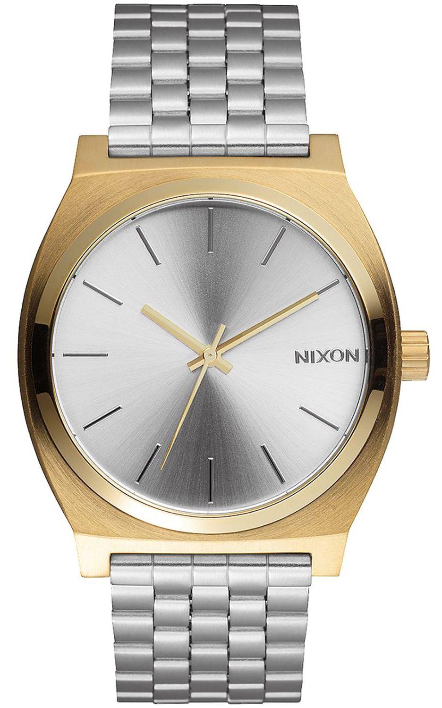 Relogio Nixon TIME TELLER Gold/Silver/Silver