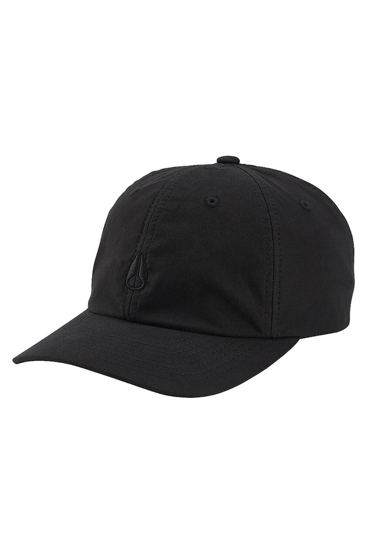 Nixon Cap   AGENT STRAPBACK Black