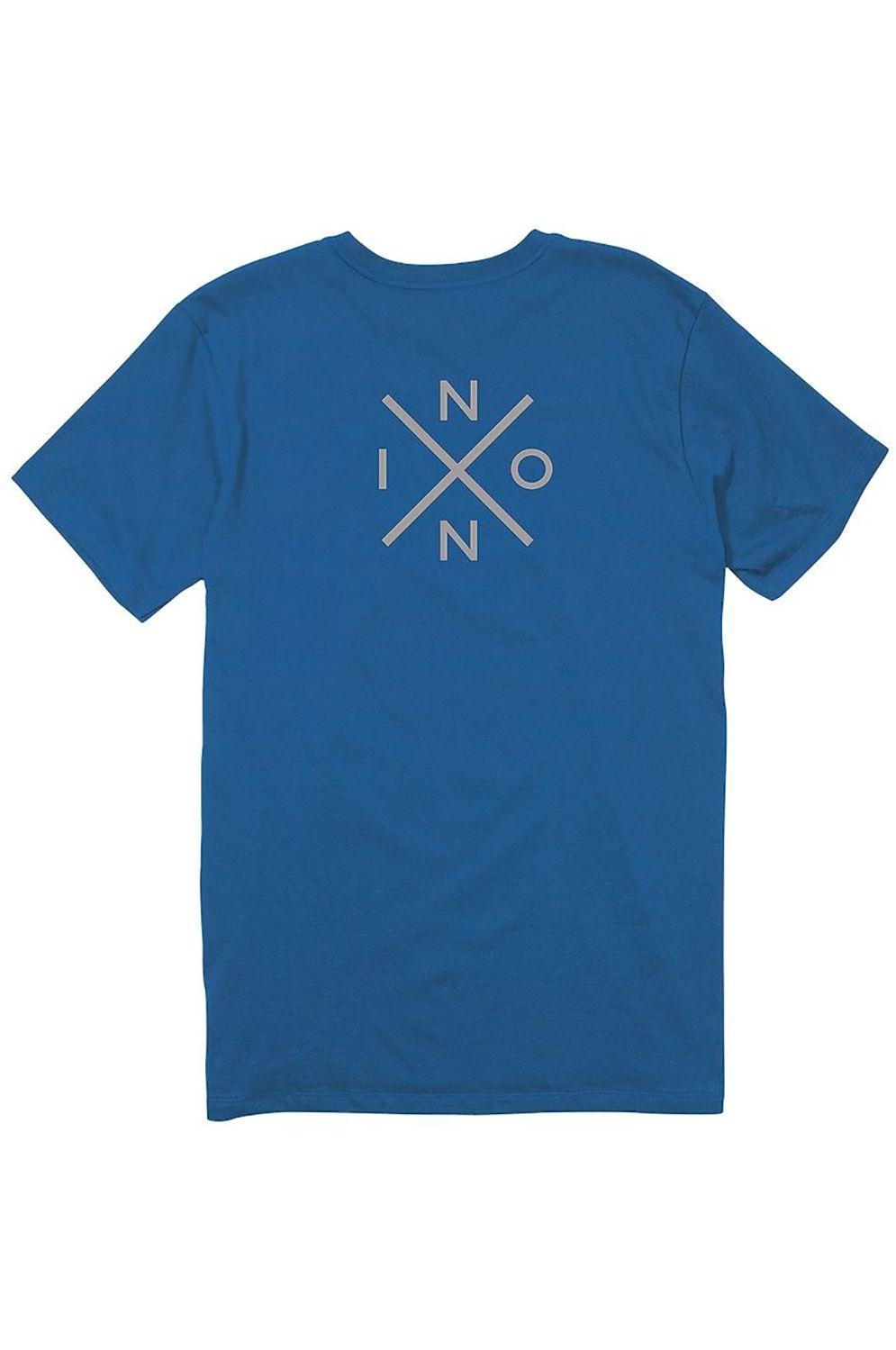 T-Shirt Nixon SPOT II Royal