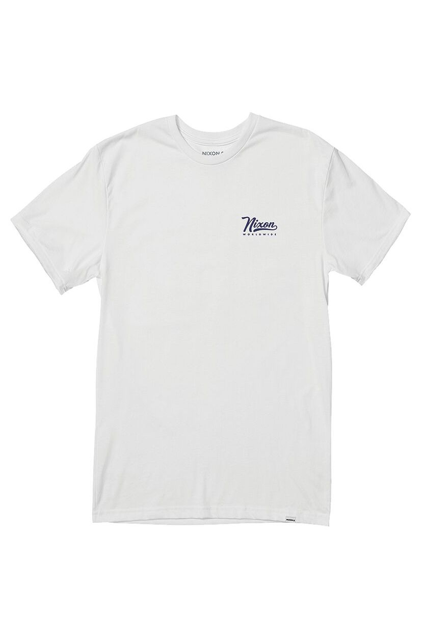 Nixon T-Shirt LOOPED S/S TEE White