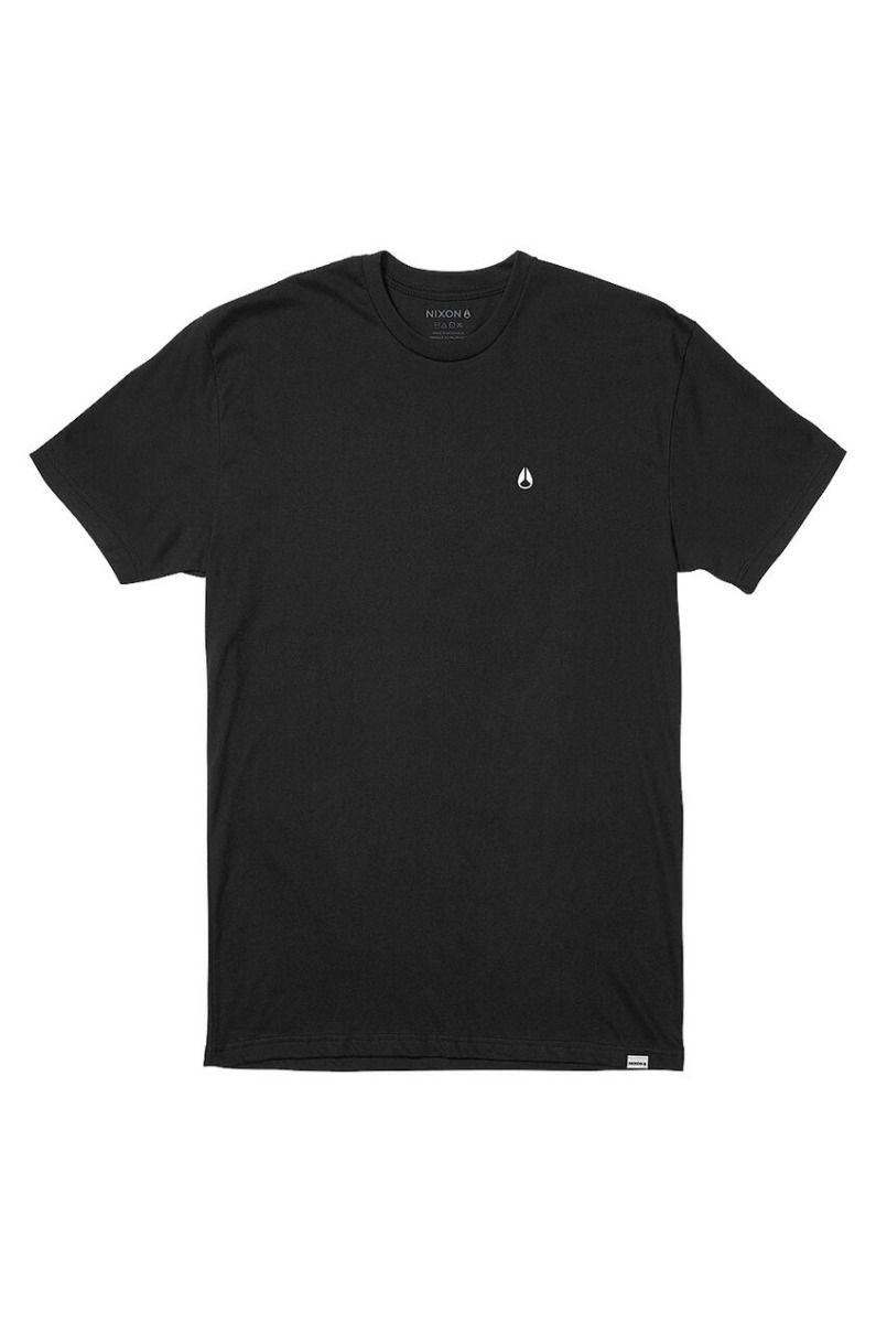 T-Shirt Nixon SPARROW - R Black