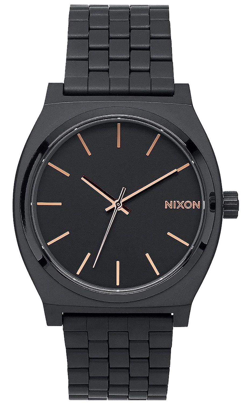 Relogio Nixon TIME TELLER All Black/Rose Gold