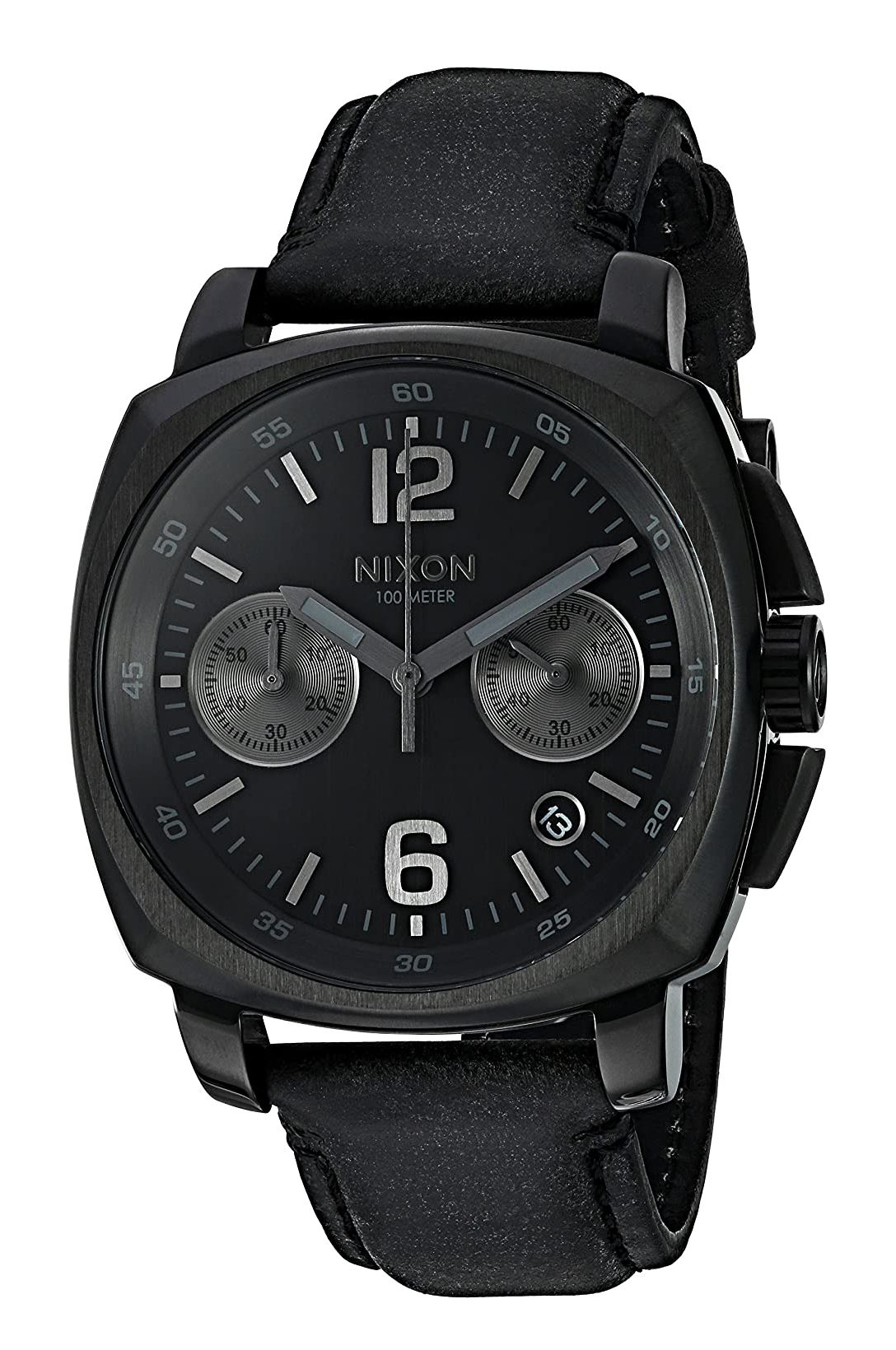Relogio Nixon CHARGER CHRONO LEATHER All Black