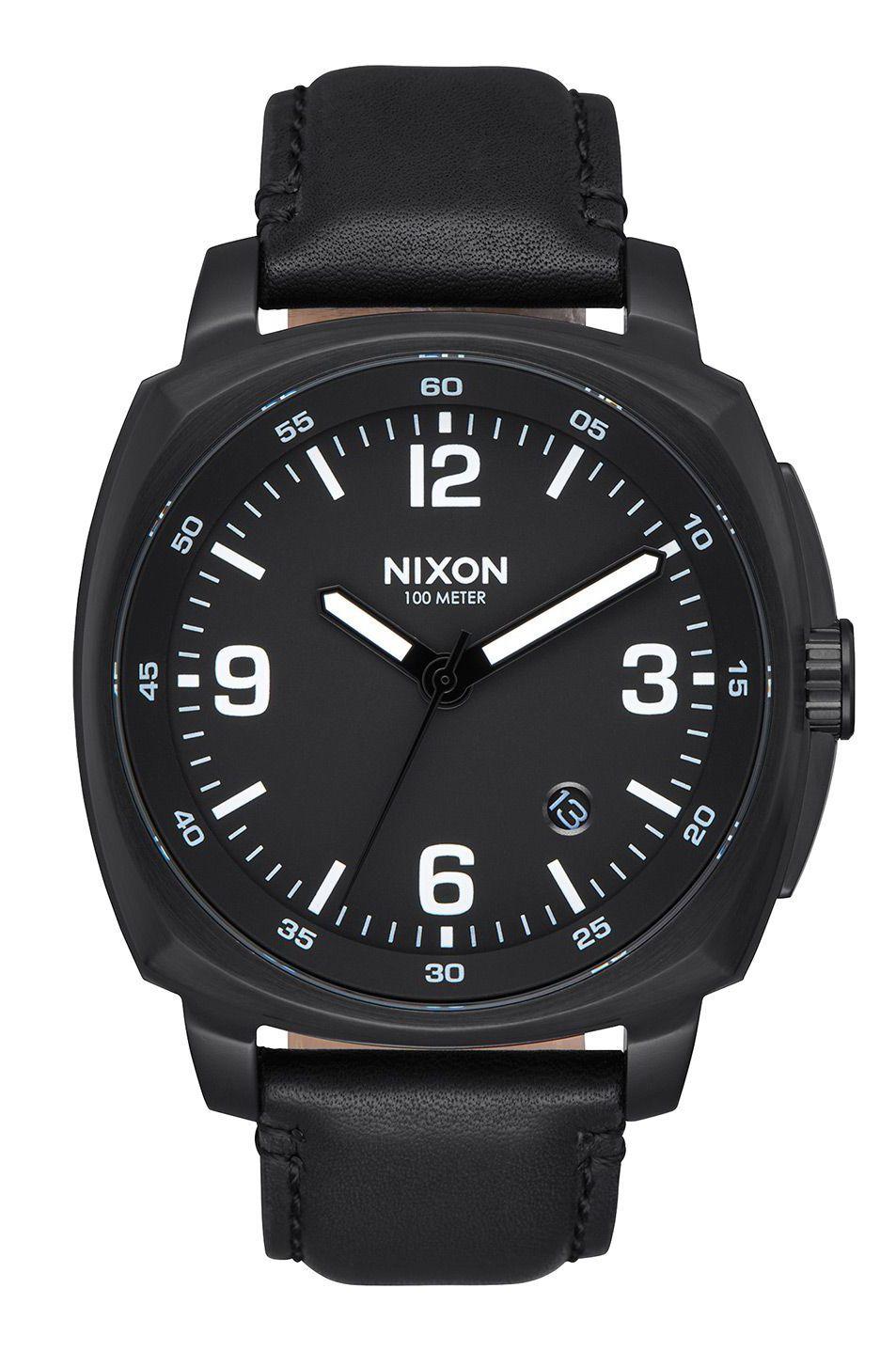 Relogio Nixon CHARGER LEATHER All Black