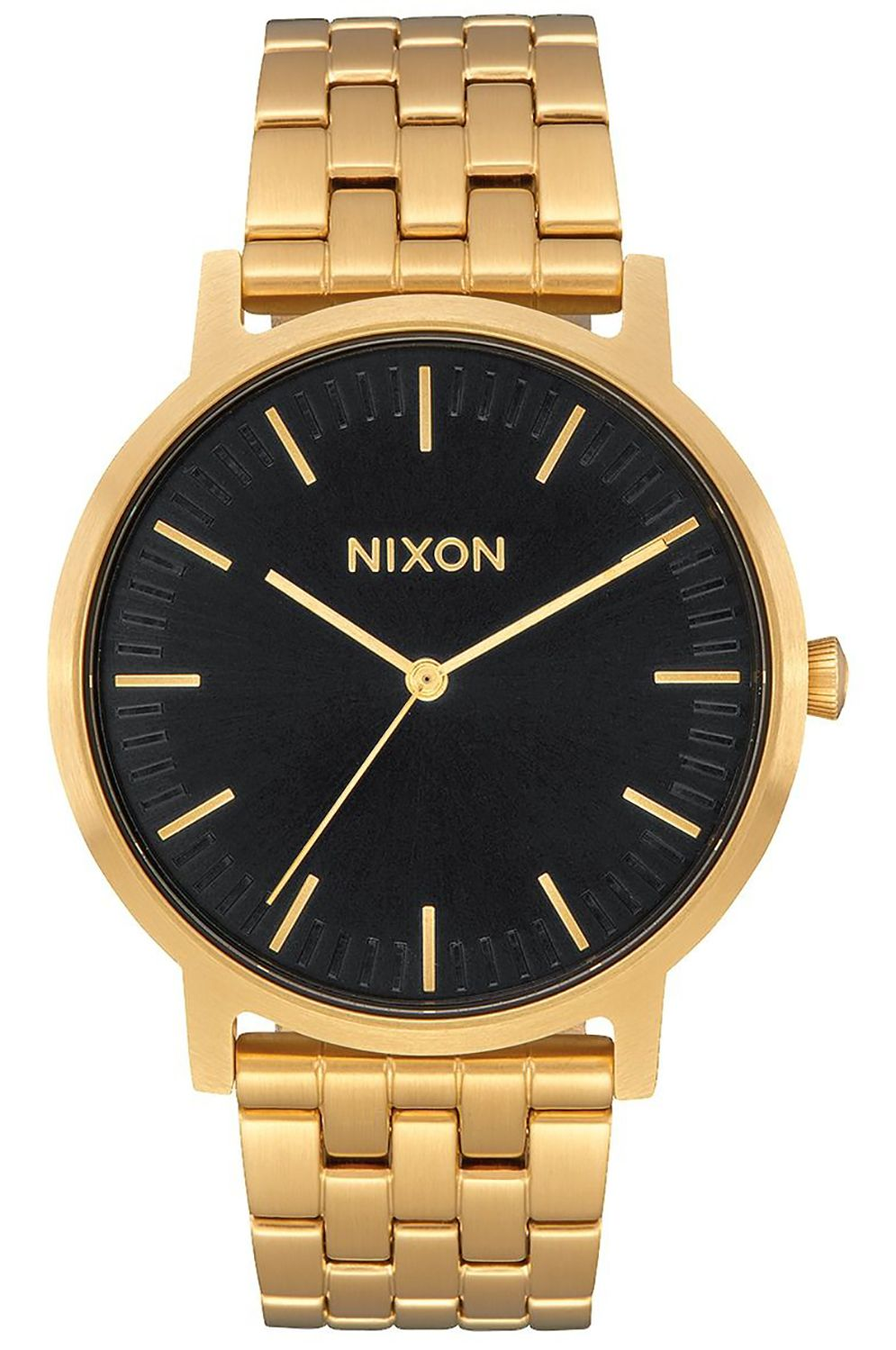 Relogio Nixon PORTER All Gold/Black Sunray