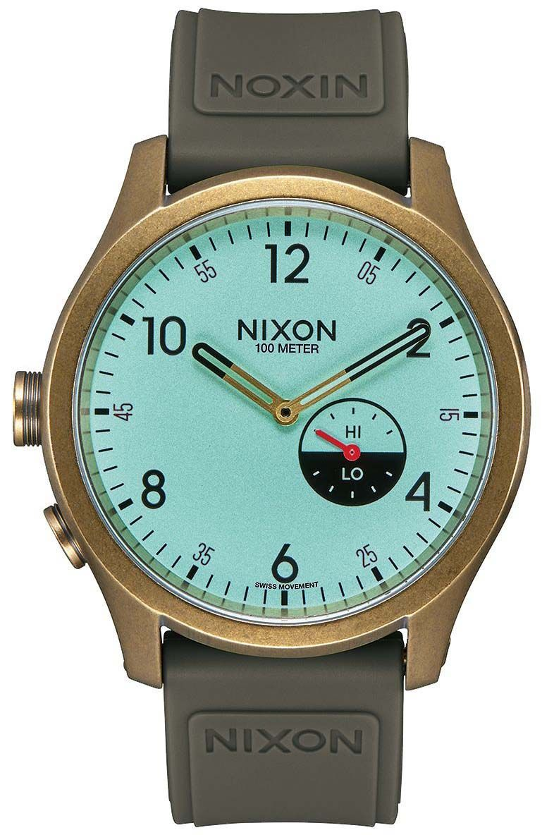 Relogio Nixon Beacon Sport Brass / Mint / Surplus