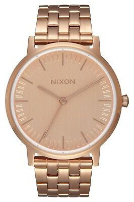 Relogio Nixon Porter 35 All Rose Gold