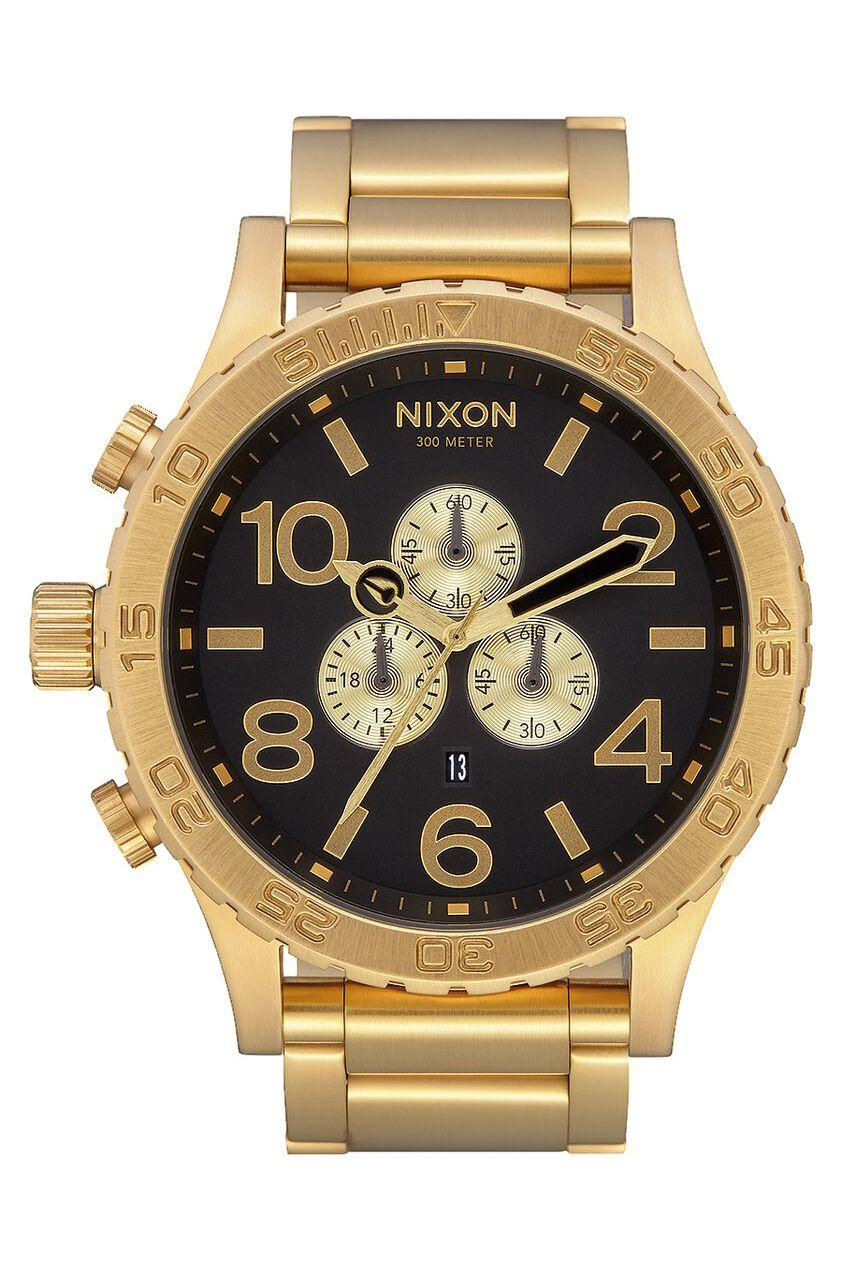 Relogio Nixon 51-30 CHRONO All Gold/Black