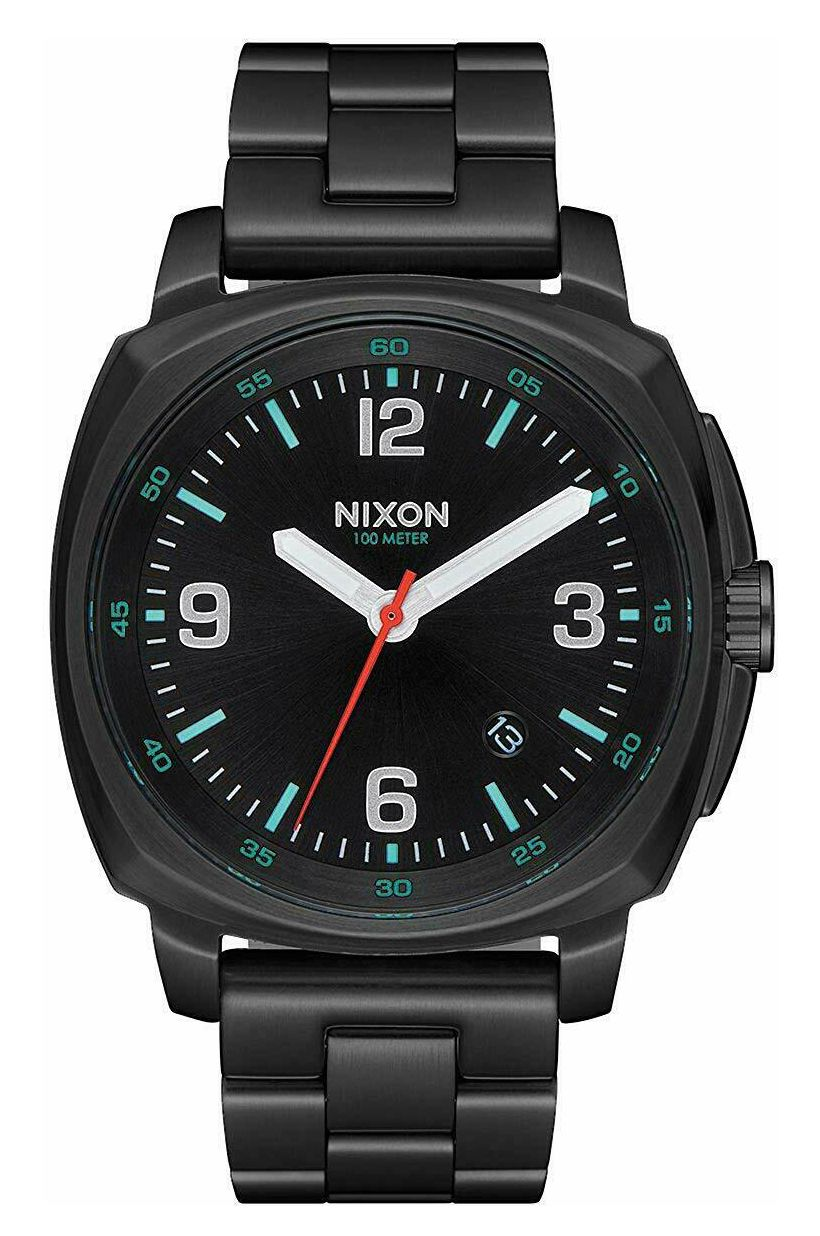 Relogio Nixon CHARGER All Black / Silver / Lum