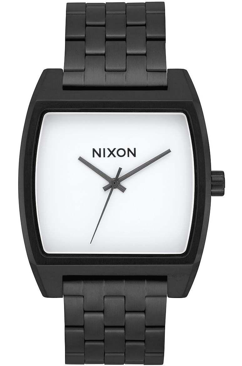 Nixon Watch TIME TRACKER Black/White