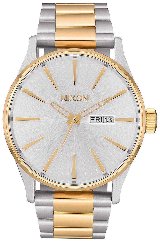Relogio Nixon SENTRY SS Silver/Gold