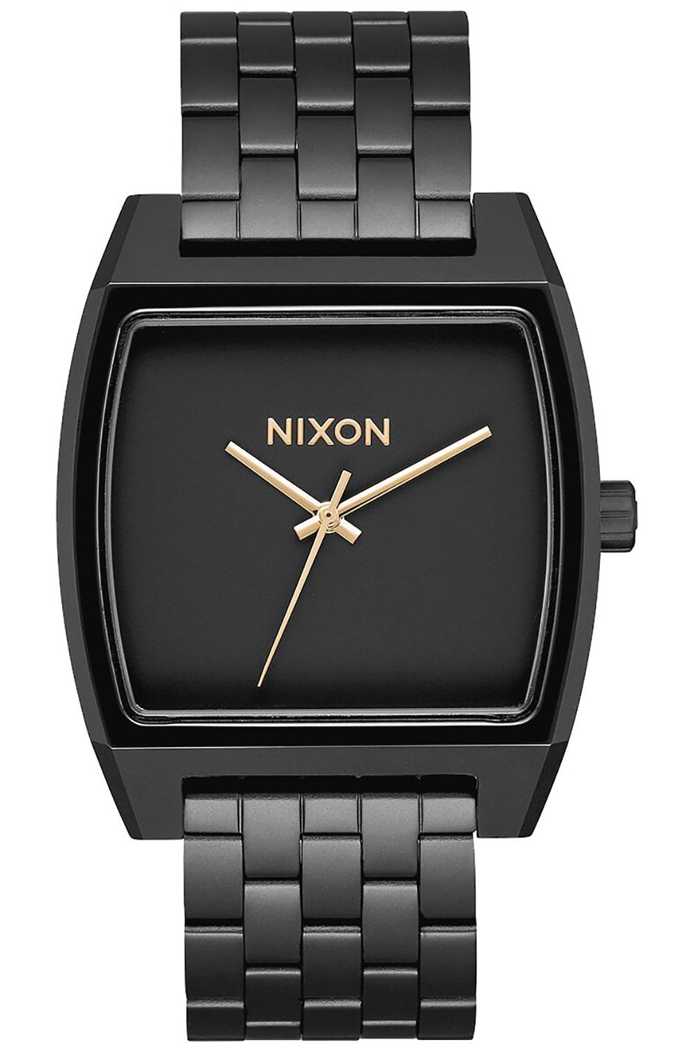 Relogio Nixon TIME TRACKER Matte Black/Gold