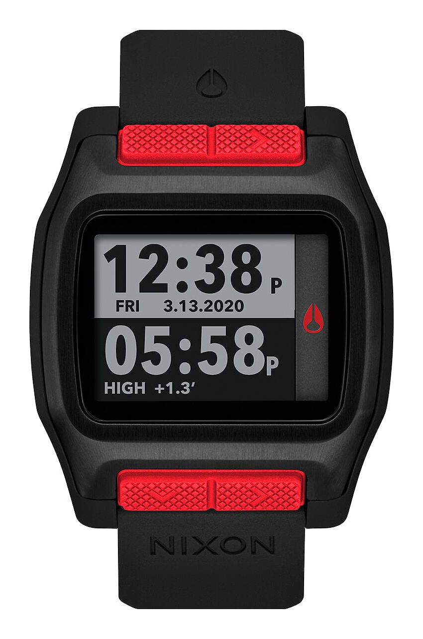 Relogio Nixon HIGH TIDE Black/Red
