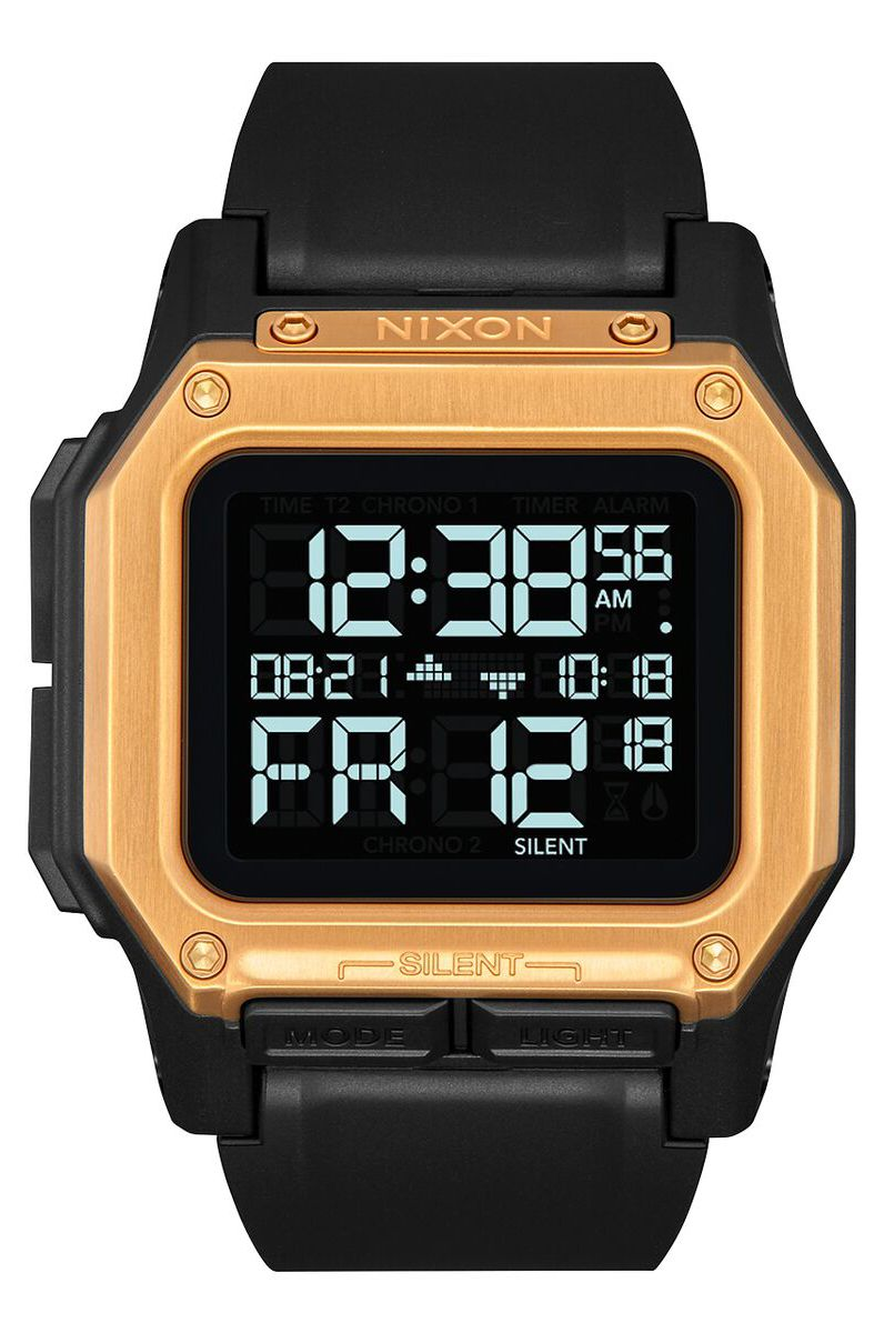 Nixon Watch REGULUS Black/Gold
