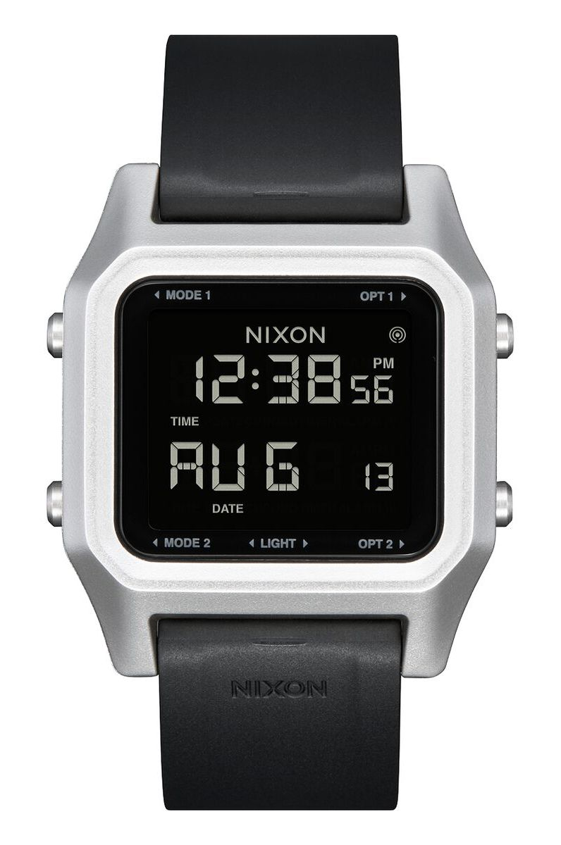 Nixon Watch STAPLE Silver/Black