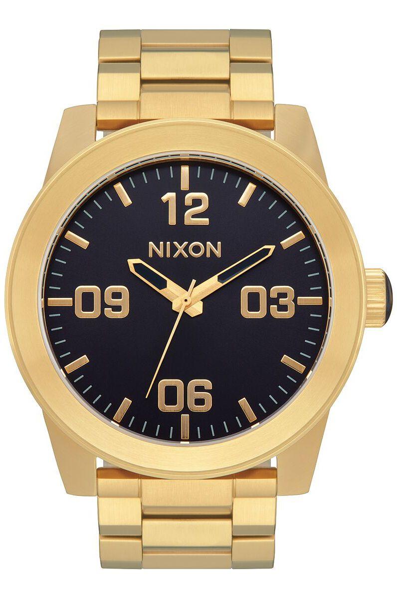 Nixon Watch CORPORAL SS Gold/Indigo