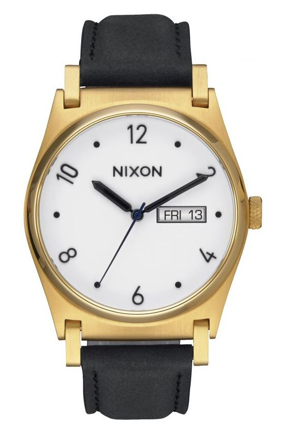 Relogio Nixon JANE LEATHER Gold/Black