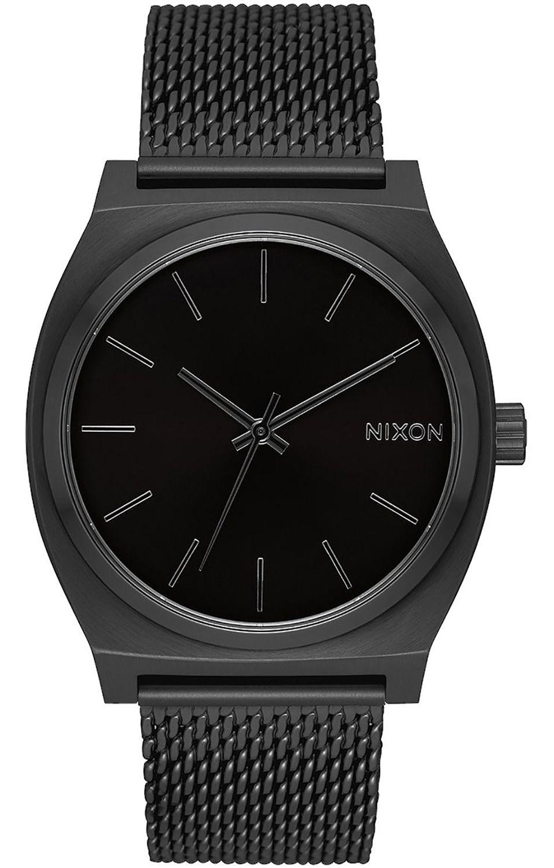 Relogio Nixon TIME TELLER MILANESE All Black