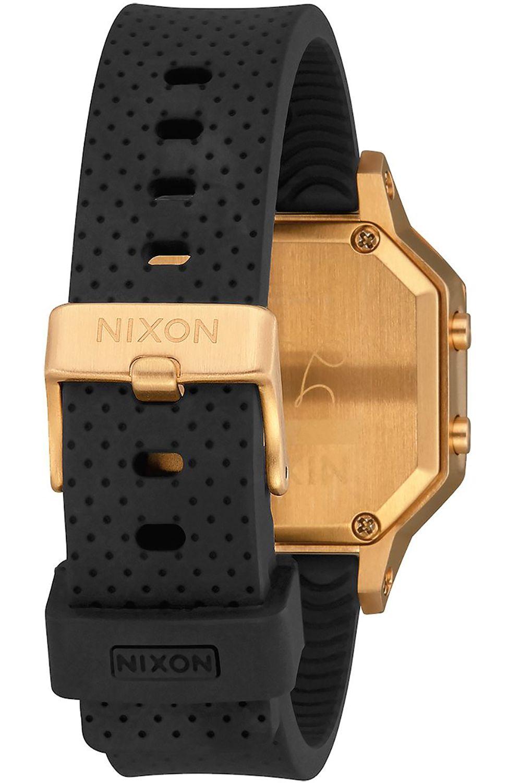 Relogio Nixon SIREN SS Gold / Black LH