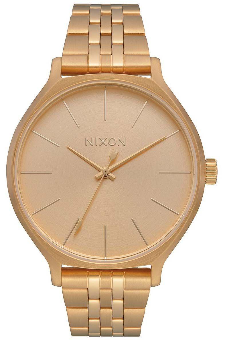 Relogio Nixon CLIQUE All Gold