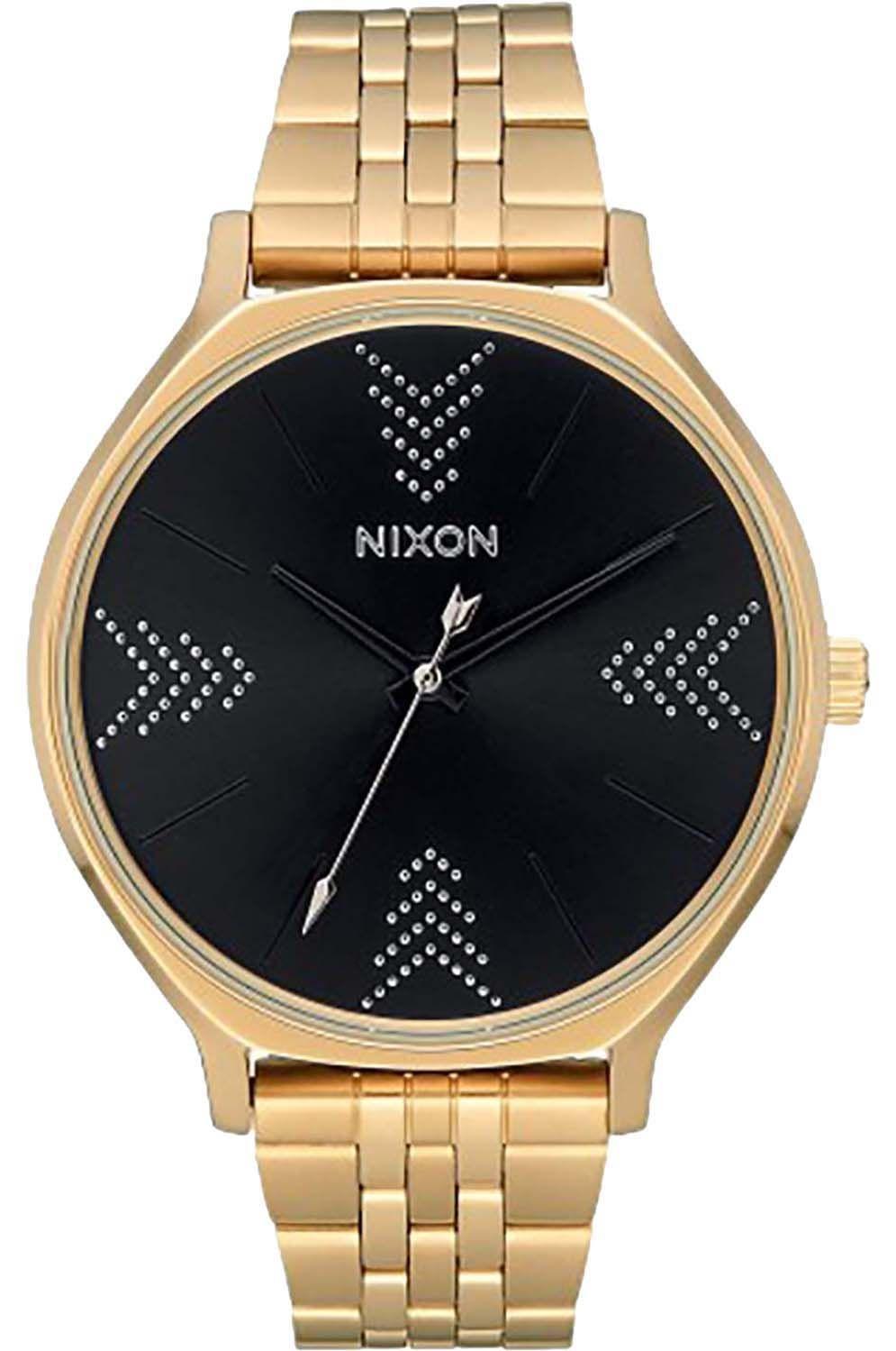 Relogio Nixon CLIQUE Gold/Black/Silver