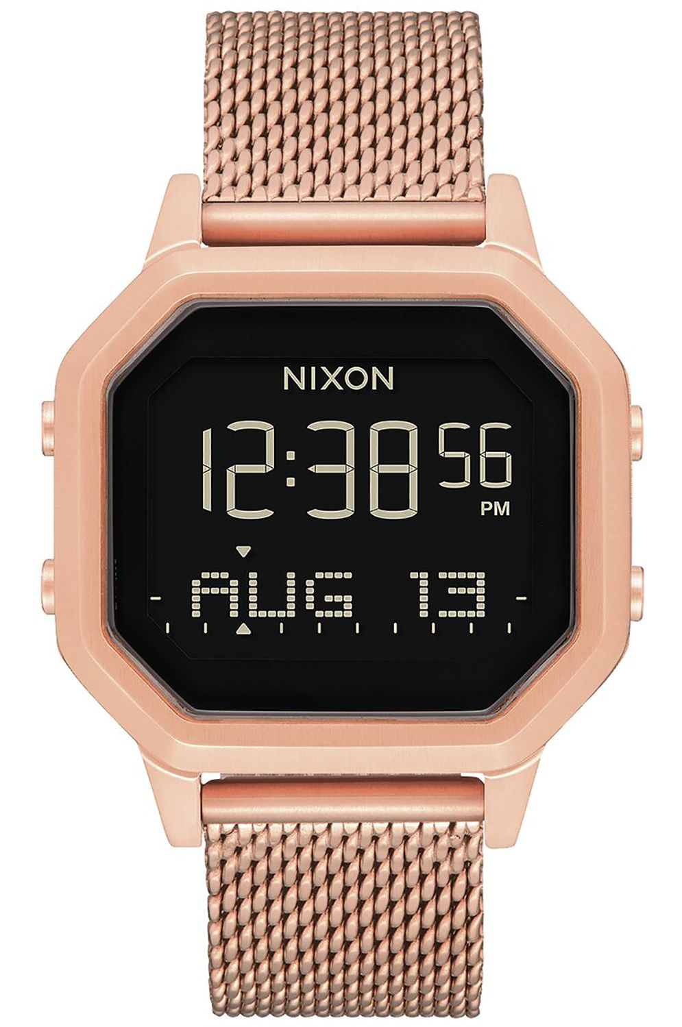 Relogio Nixon SIREN MILANESE All Rose Gold