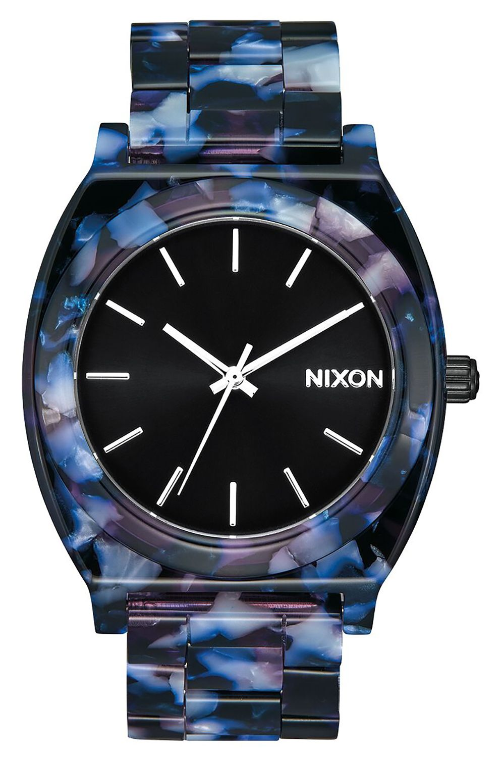 Relogio Nixon TIME TELLER ACETATE Black/Multi