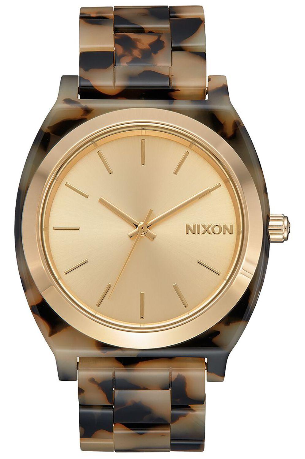 Relogio Nixon TIME TELLER ACETATE Cream Tortoise