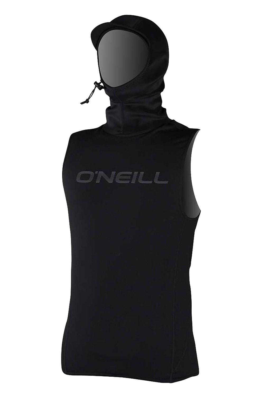 O'Neill Neoprene Lycra THERMO-X VEST W/NEO HOOD Black