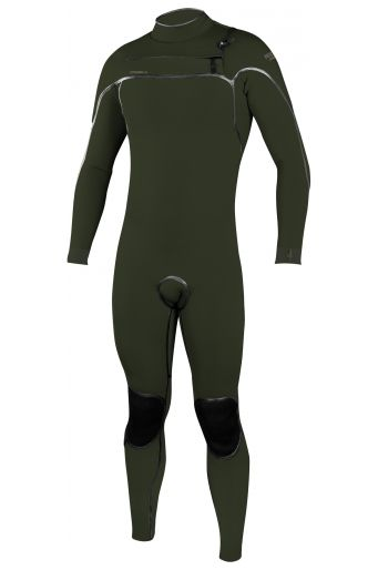O'Neill Wetsuit PSYCHO ONE 4/3 CHEST ZIP FULL Ghost Green/Ghost Green 4x3mm