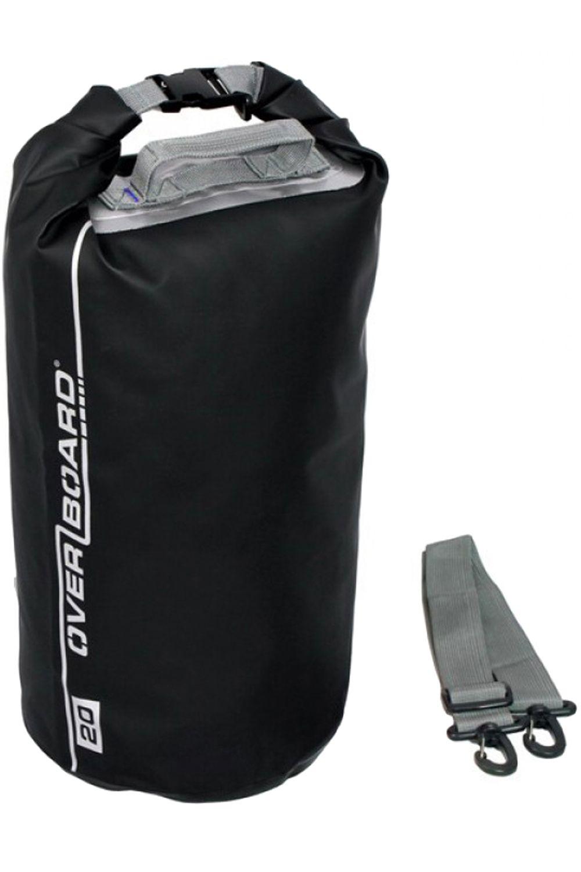 Overboard Backpack 20L TUBE WATERPROOF DRY BAG Black