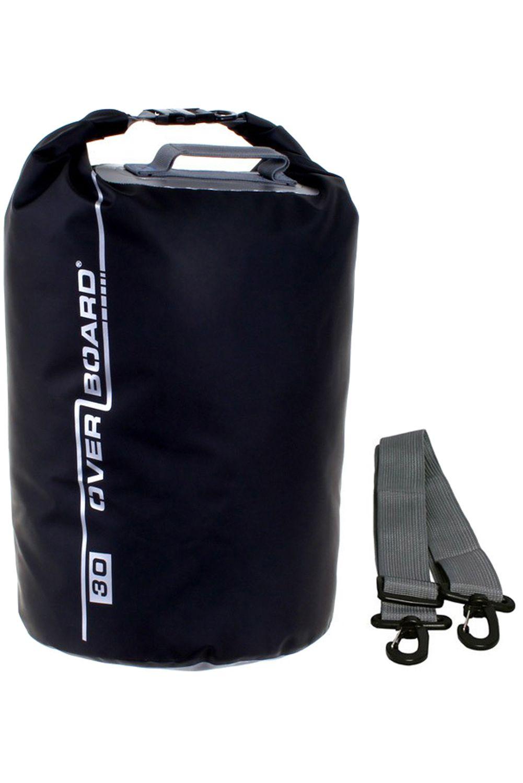 Overboard Backpack 30L TUBE WATERPROOF DRY BAG Black