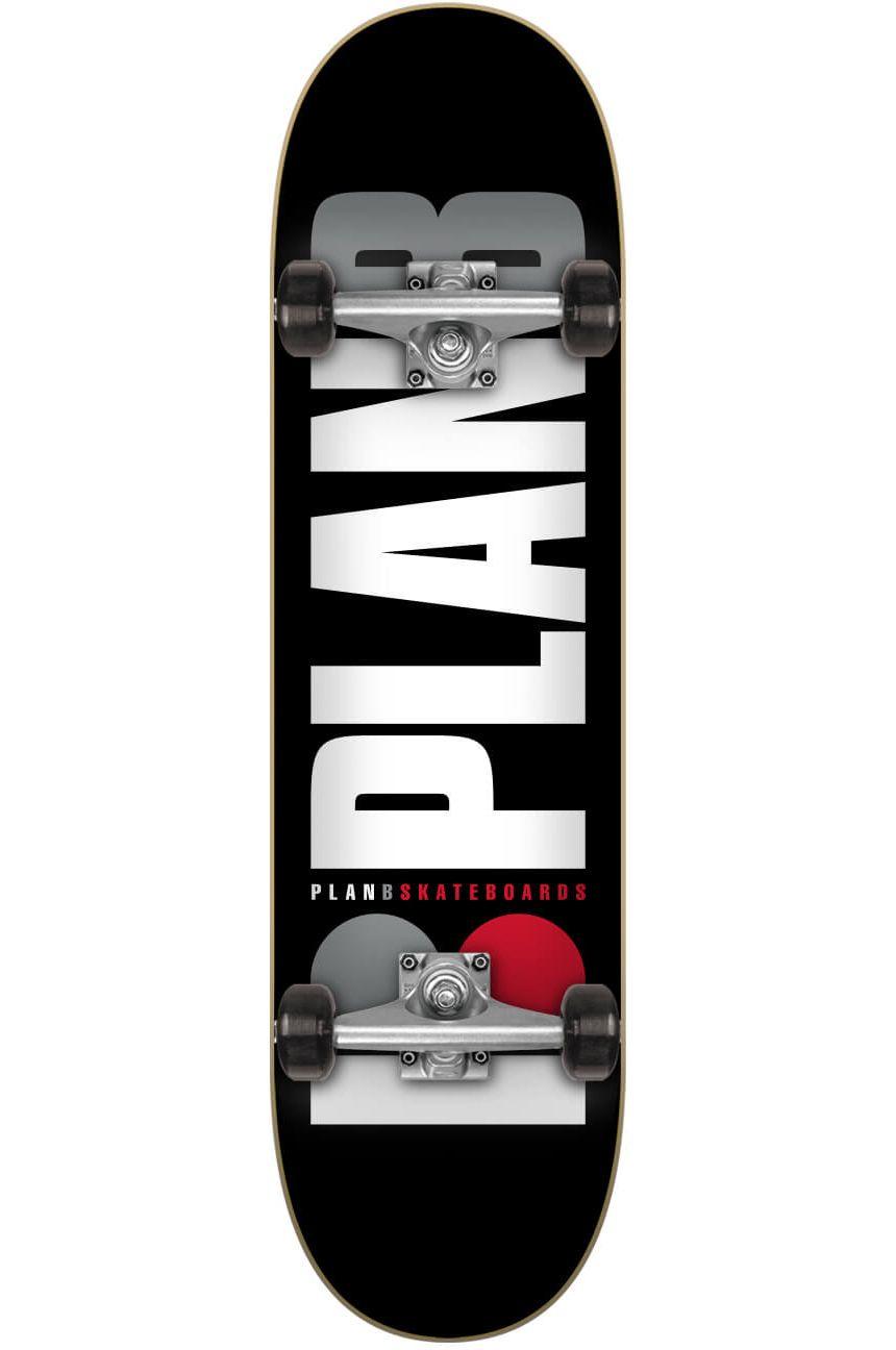 "Street Skate Plan B 7.75"" X 31.6"" TEAM OG BLACK Assorted"