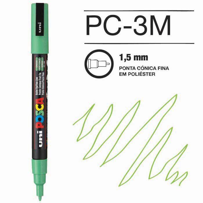 Canetas/Tintas Posca 3M Verde Claro