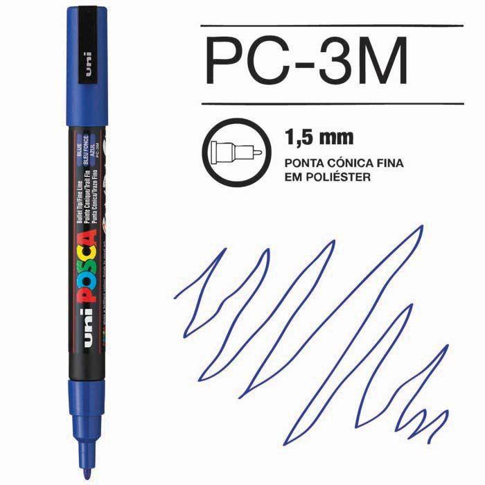 Canetas/Tintas Posca 3M Azul